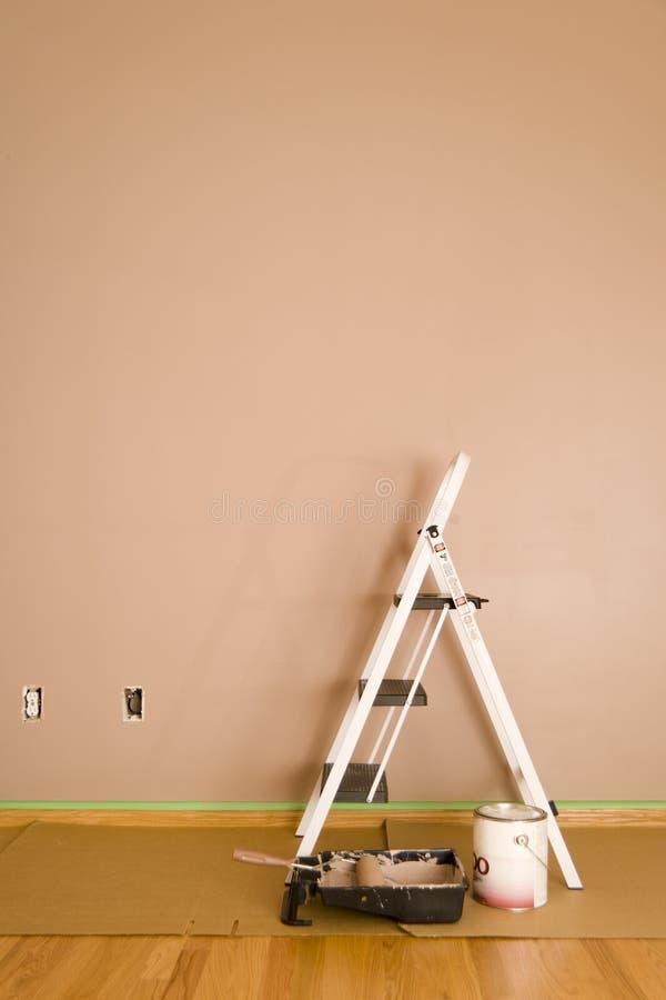 målad vägg arkivfoto