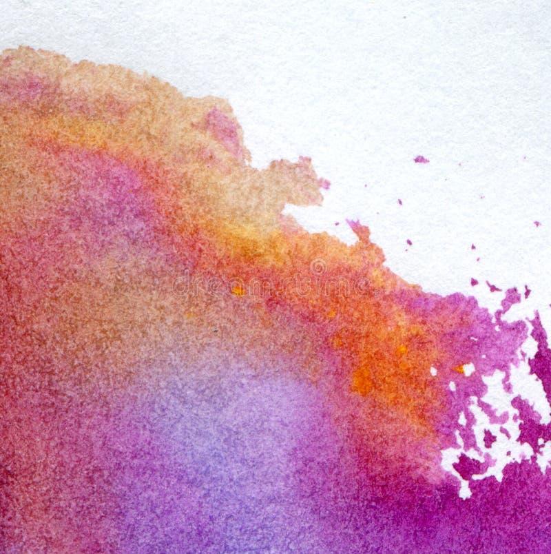 målad vattenfärg för bakgrund hand royaltyfri fotografi