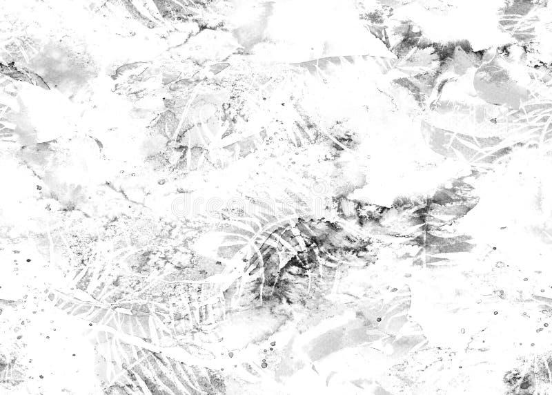 Målad vattenfärgmodell stock illustrationer