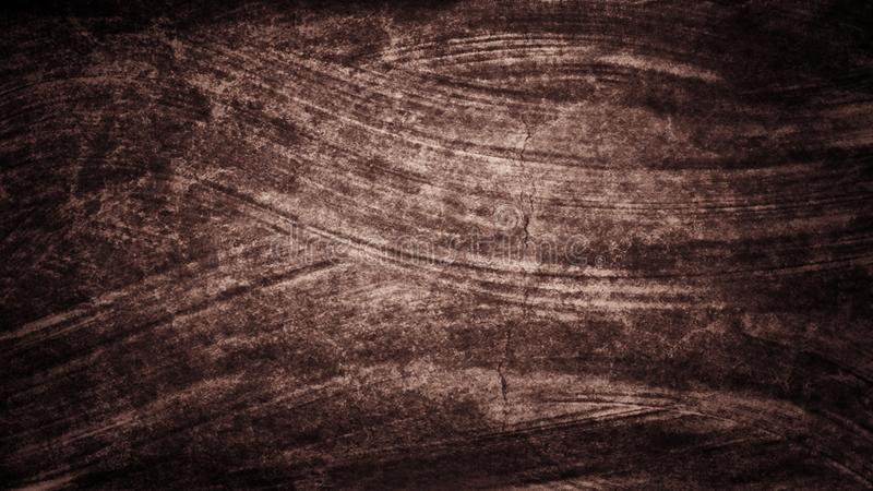 Målade den röda bruna vattenfärghanden för mörk grunge borsteslaglängder abstrakt bakgrundslinjer Livliga aquarellevågor Stuckatu vektor illustrationer