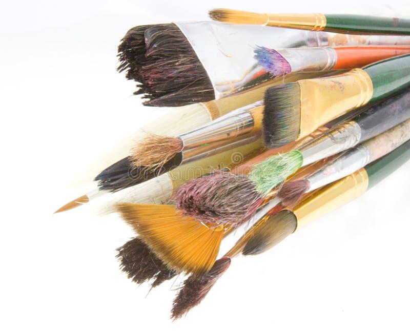 målarfärg arkivfoto
