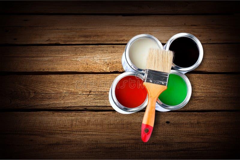 målarfärger fotografering för bildbyråer