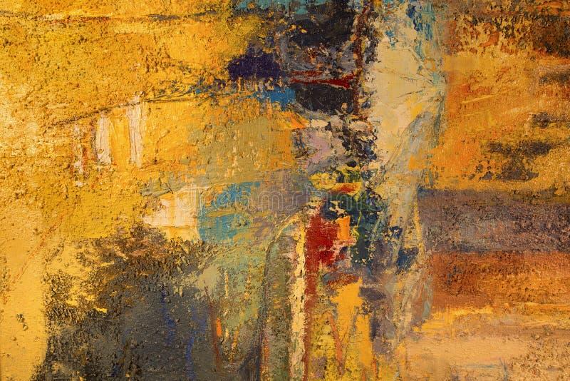 Målning av abstrakt färgrik bakgrund royaltyfri bild