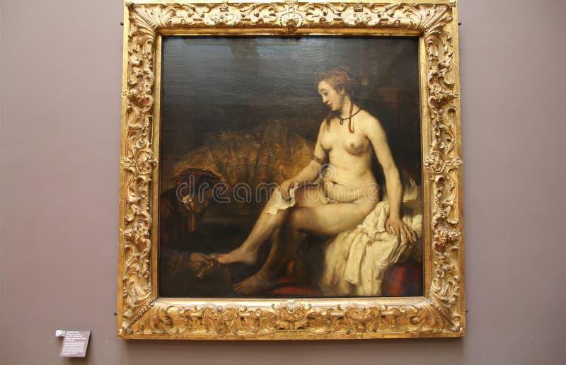 målning rembrandt royaltyfri foto