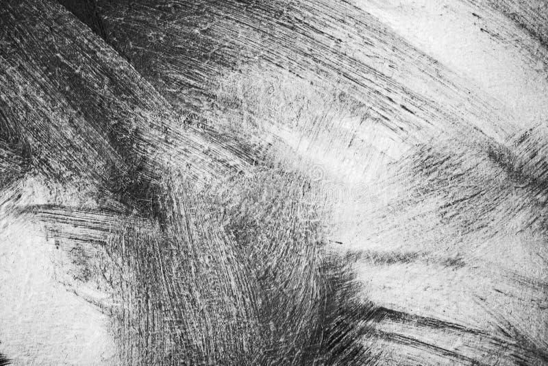 Målningbakgrund, uttrycksfulla borsteslaglängder arkivfoto