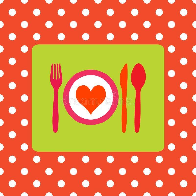 måltid vektor illustrationer