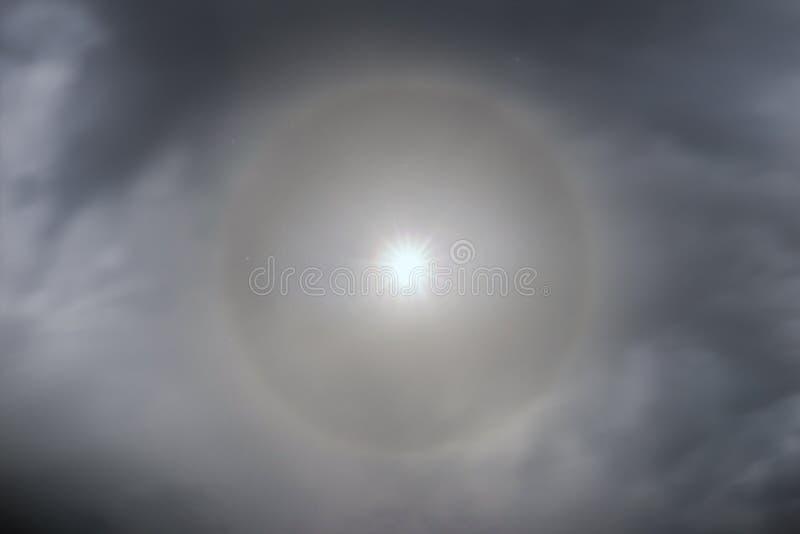 Mån- gloria i fjällängarna royaltyfri fotografi