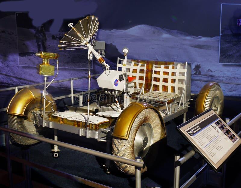 Mån- Rover Model, måneutforskning, astronautik royaltyfri fotografi