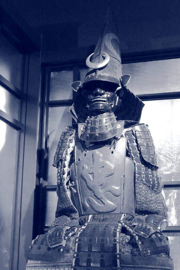 Mån- samurajer royaltyfri bild