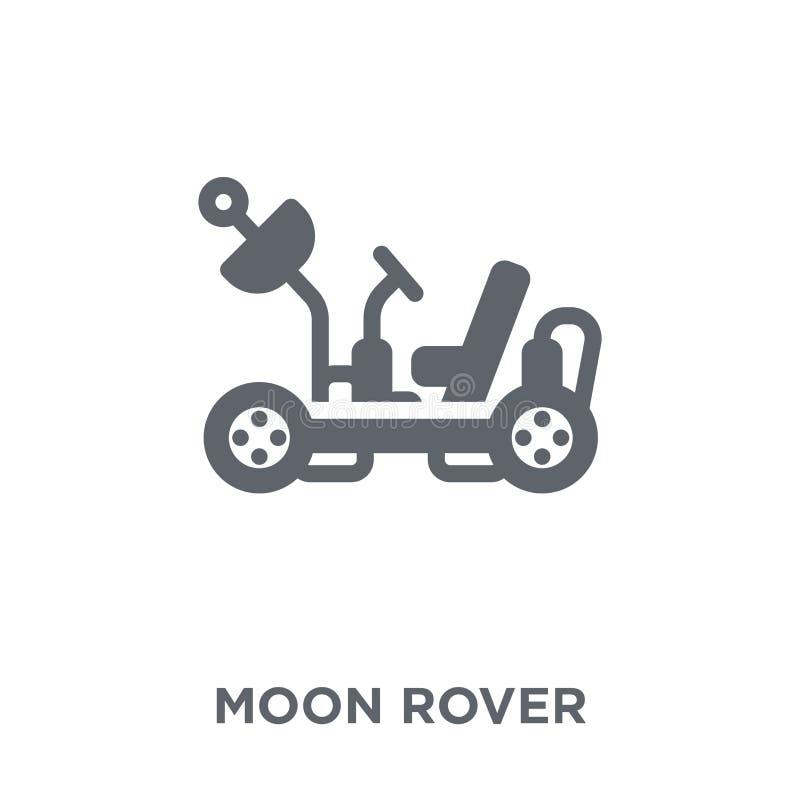 Måneroversymbol från astronomisamling vektor illustrationer
