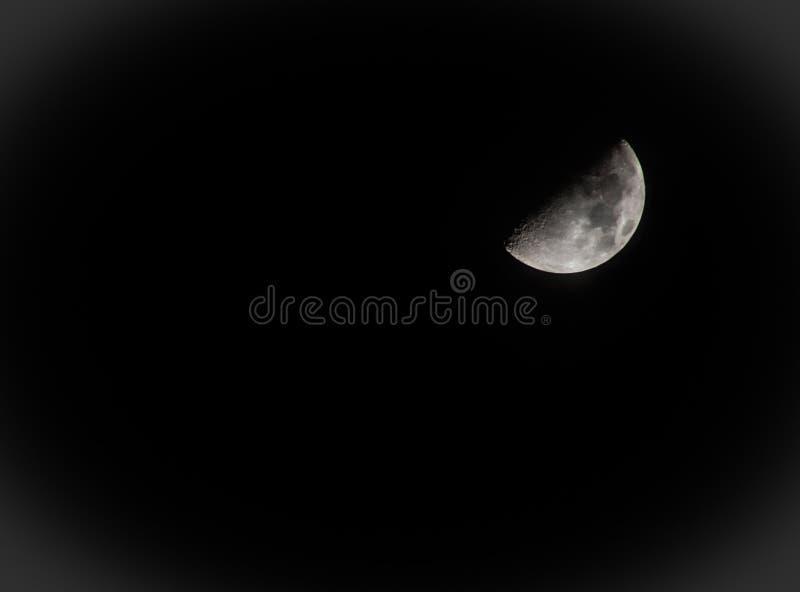 Månescape royaltyfri bild