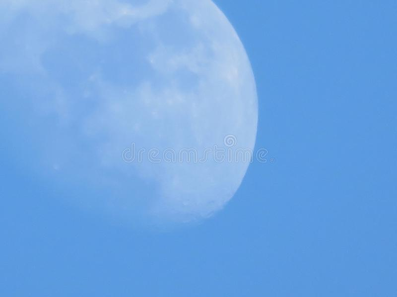 Månesikt arkivfoton