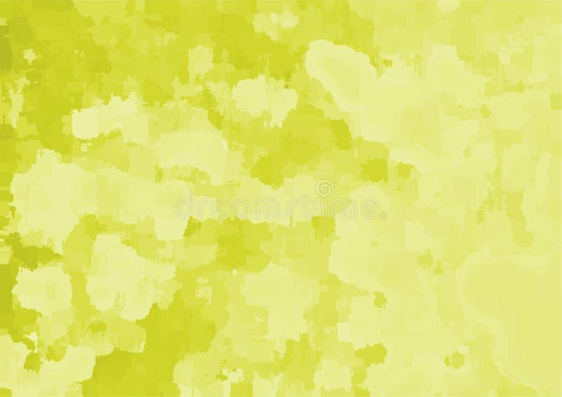 Mång- avsikt för abstrakt gul bakgrund royaltyfri illustrationer