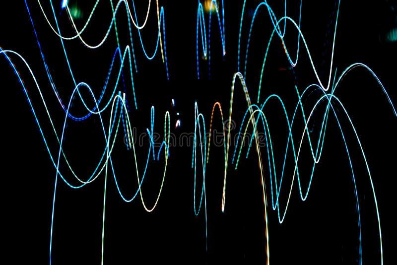 mång- bakgrund för färgbelysningmodell arkivbilder