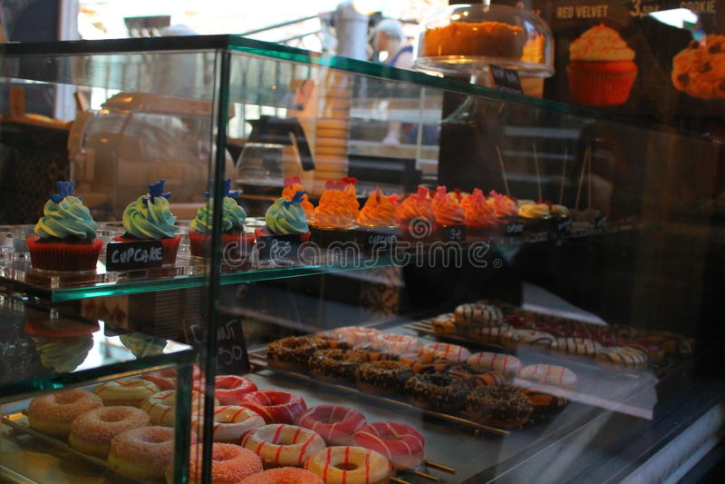 Mång--färgen av mat fotografering för bildbyråer