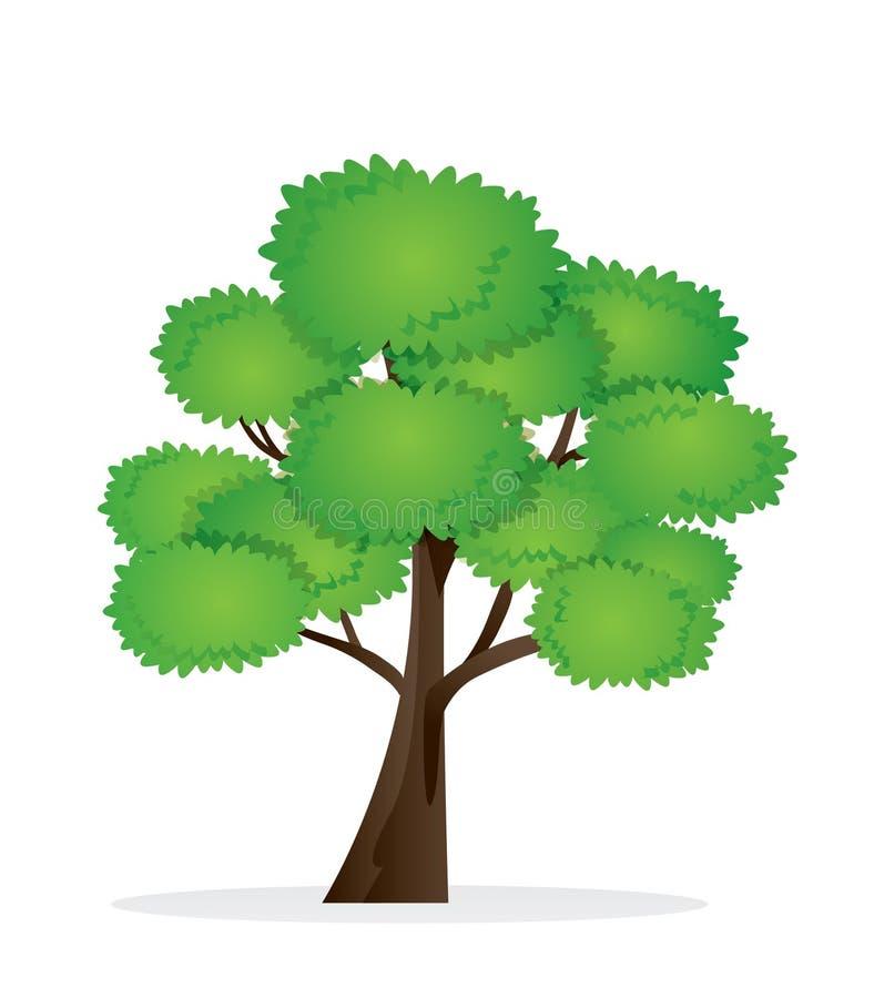 många ekologibilder mer min portföljtreevektor stock illustrationer