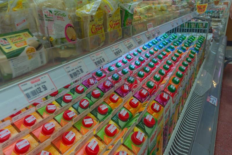 Många typer av fruktfruktsaft fotografering för bildbyråer