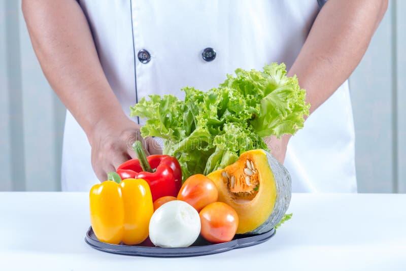 Många typer av grönsaker royaltyfri foto
