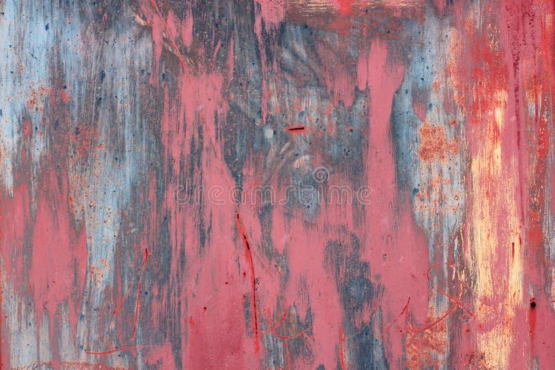 Mångfärgad grungevägg, högt detaljerat texturerat bakgrundsabstrakt begrepp Fläckar sprutmålningsfärg rolig gladlynt bakgrund, lj royaltyfria bilder