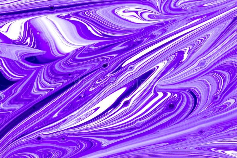 Mångfärgad målarfärg virvlar runt abstrakt bakgrund vektor illustrationer