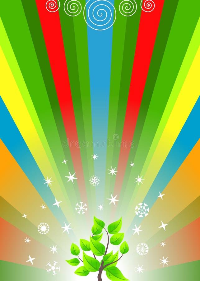 mångfärgad regnbåge för abstrakt bakgrund royaltyfri illustrationer