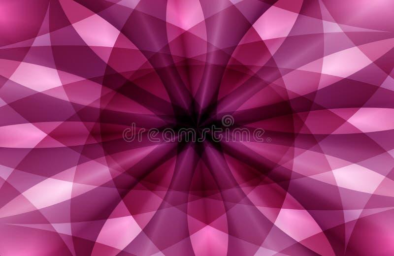 Mångfärgad skuggad krabb bakgrund för abstrakt vektor med bubblor, tapet, vektorillustration, royaltyfri illustrationer