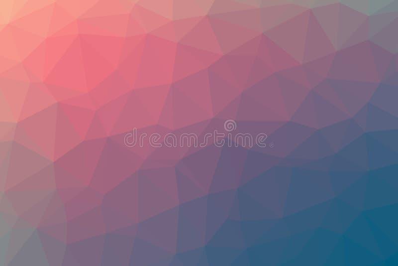 Mångfärgade för bottenläge backgounds polly vektor illustrationer