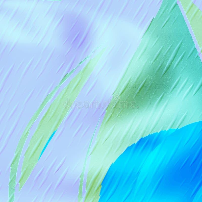 mångfärgat regn arkivfoton