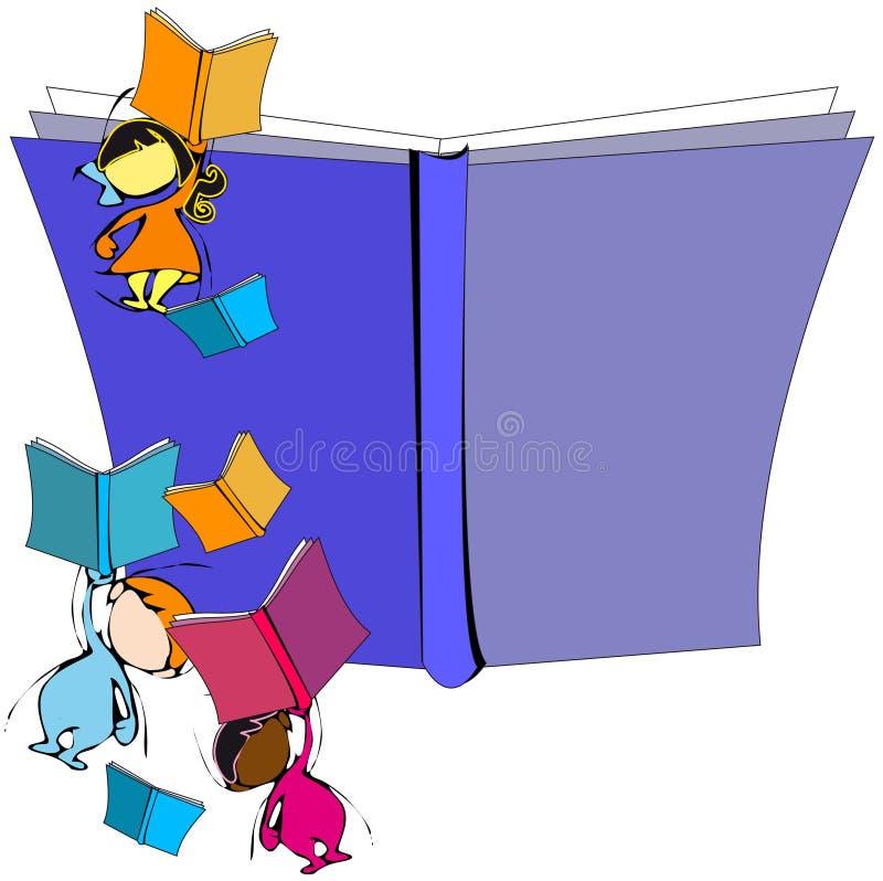 Mångfald: barn och utbildning vektor illustrationer