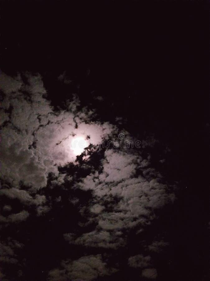 månsken arkivfoton