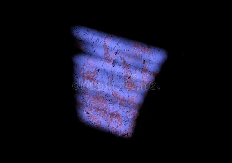 Månsken exponerar väggen strålar av natthimlen på en svart bakgrund atmosfärisk mörk tapet arkivfoton