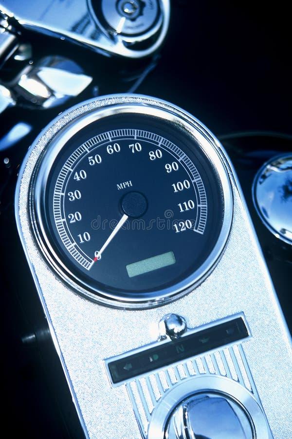 Download Mått motorcykelhastighet fotografering för bildbyråer. Bild av push - 289119