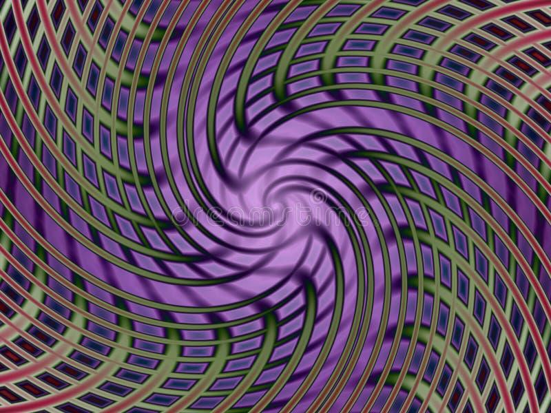 Måttet snedvrider II vektor illustrationer
