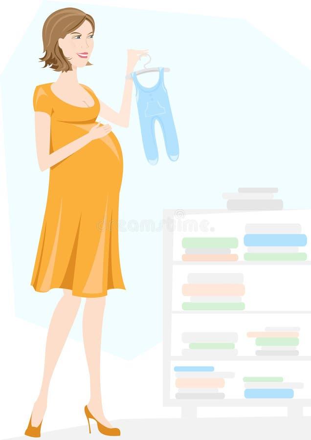 Mère à être, femme enceinte images libres de droits