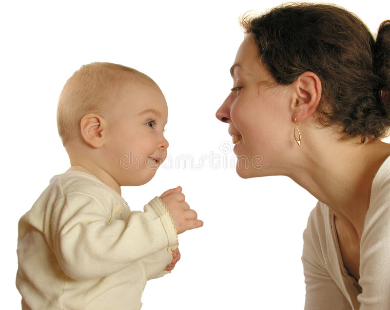 Mère avec la chéri image libre de droits