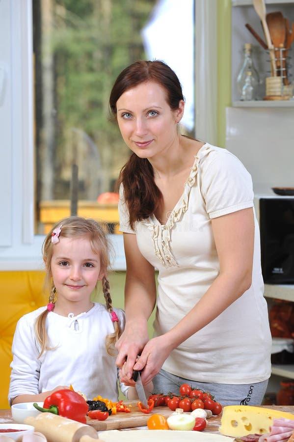 Mère avec la fille photographie stock libre de droits