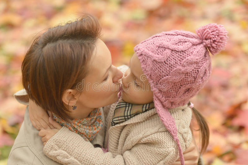 Mère avec la fille photo libre de droits