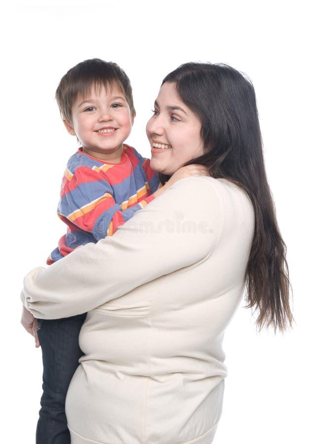 Mère avec son enfant photos stock