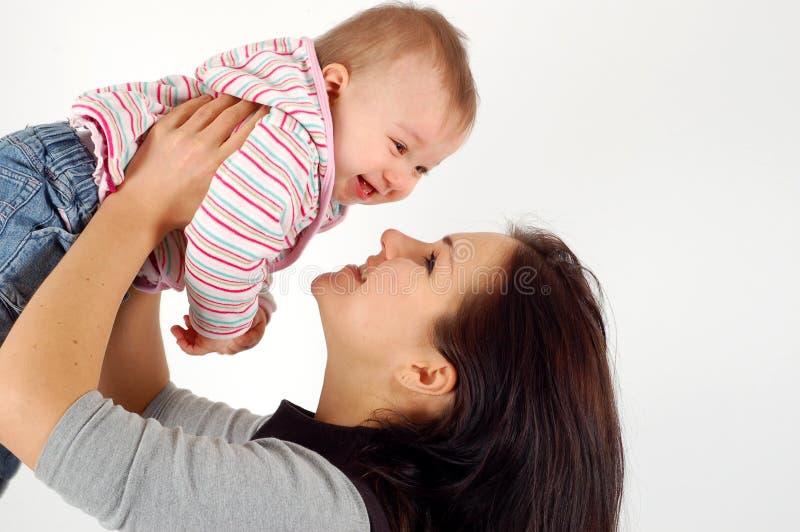 Mère et bébé photographie stock