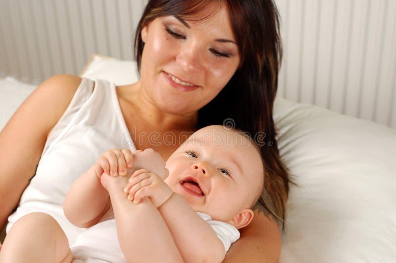 Mère et chéri #16 images stock