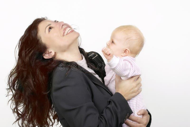 Mère et chéri image stock