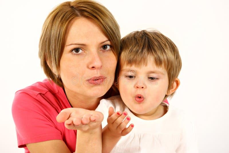 Mère et descendant images stock