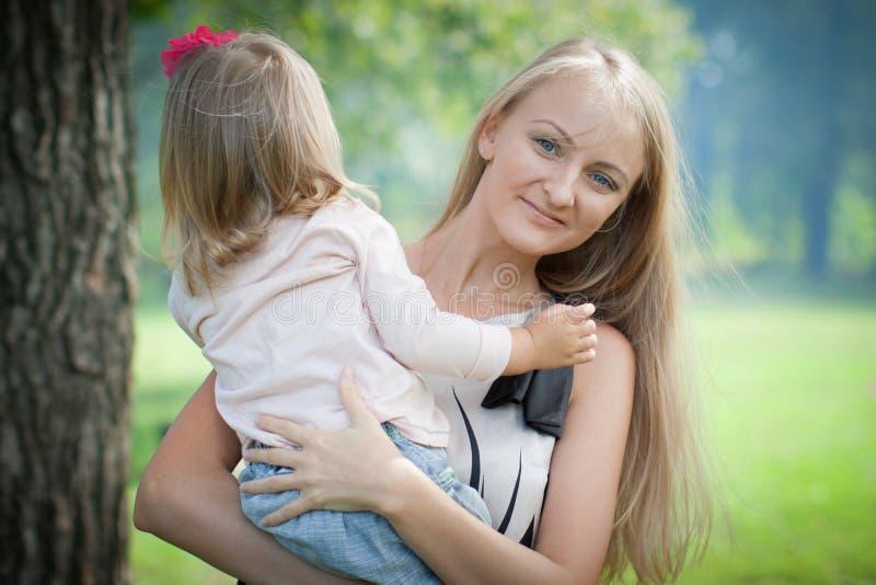 Mère et descendant. photos stock
