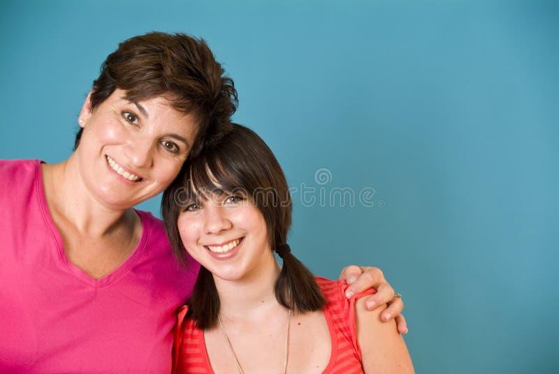 Mère et descendant images libres de droits