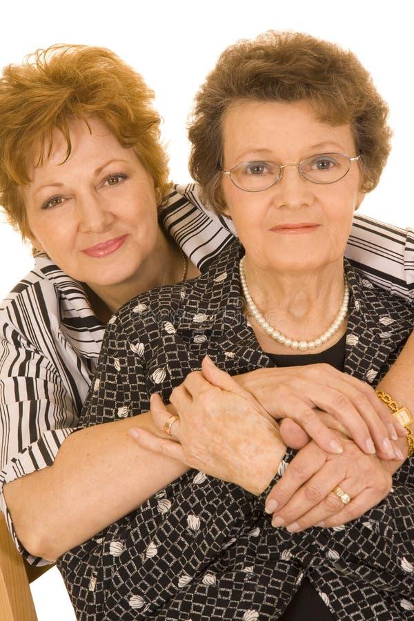 Mère et descendant image libre de droits