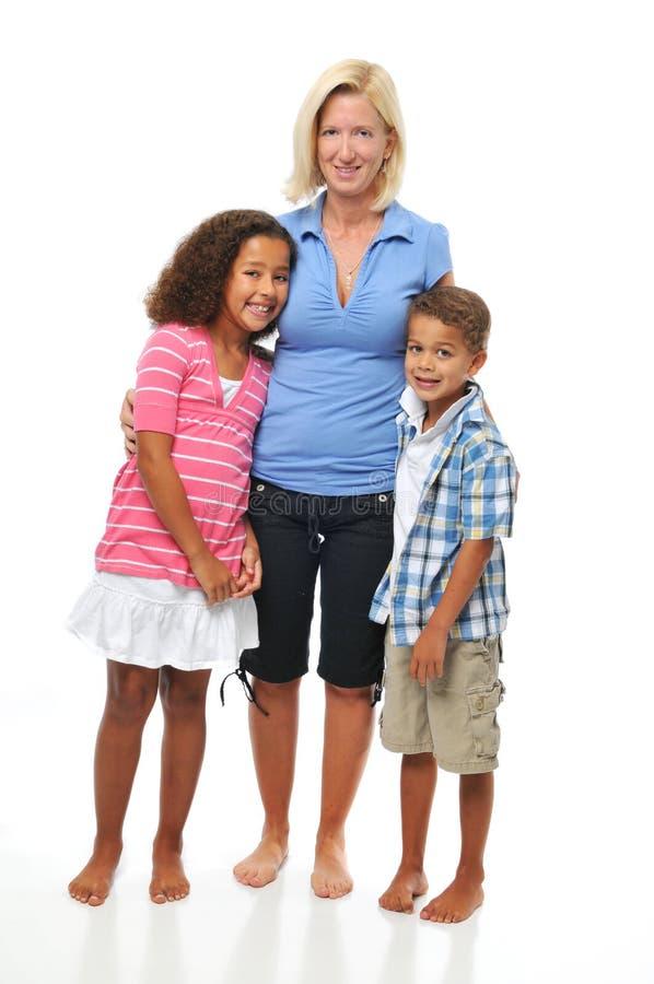 Mère et enfants images stock