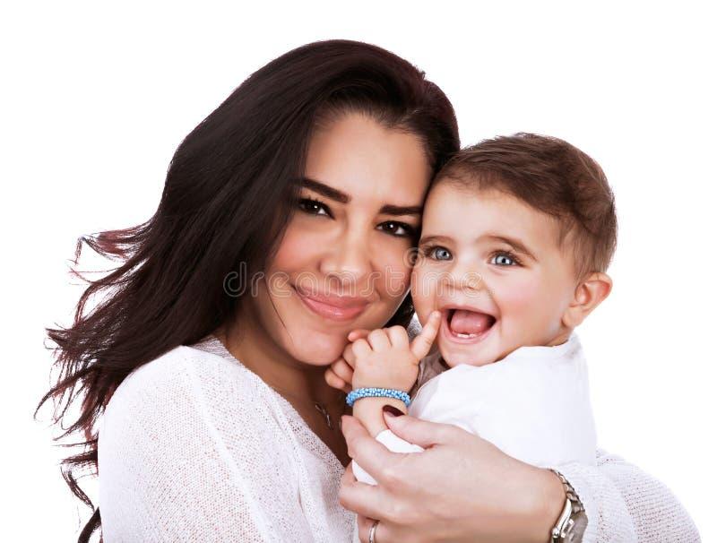 Mère heureuse avec la fille photo libre de droits