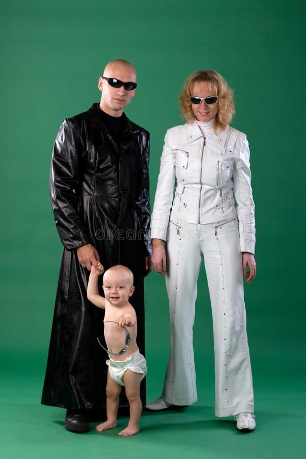 Mère, père et fils photos stock