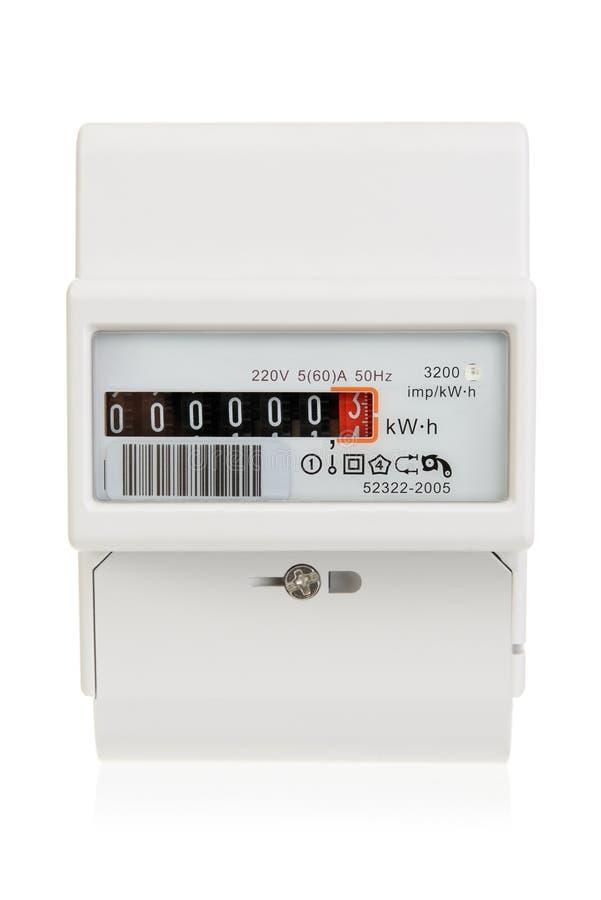 Mètre électrique images stock