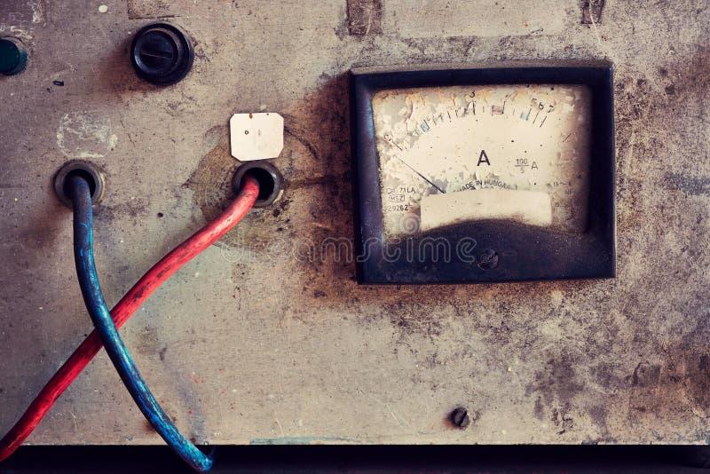 Mètre électrique photo stock